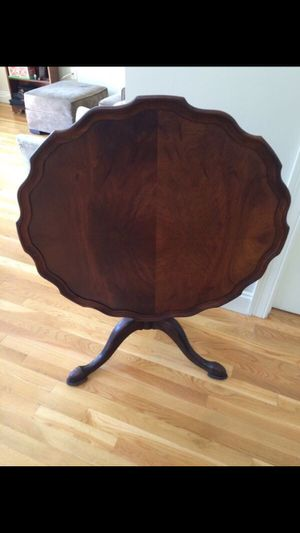 Antique Pie Plate Table for Sale in Boston, MA