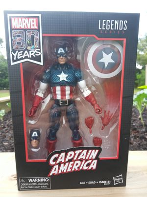 Marvel Legends Captain America for Sale in Spring Hill, FL