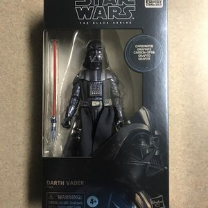Darth Vader Carbonized Black Series *MINT* Star Wars Amazon Exclusive Empire Strikes Back ESB 40th Anniversary Figure Hasbro E9924 Disney for Sale in Lewisville, TX