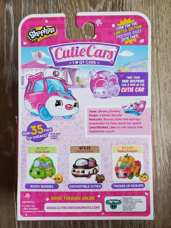 Shopkins Cutie Cars Wheely Sneaky