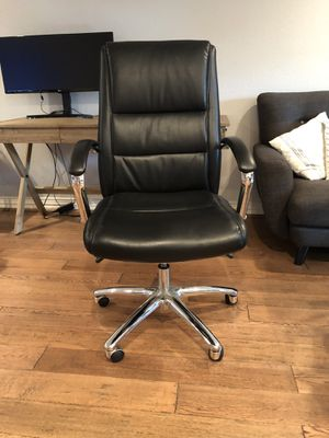 Black office chair for Sale in Dallas, TX