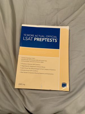 LSAT Prep Book for Sale in Columbia, SC