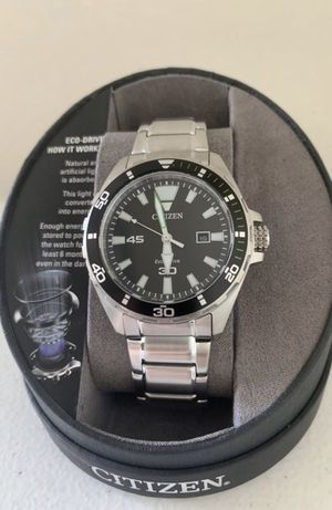 Citizen Eco-Drive 44 mm Silver-Tone Stainless Steel Men's Watch for Sale in Flower Mound, TX