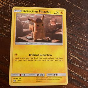 Detective Pikachu Pokémon for Sale in Irvine, CA
