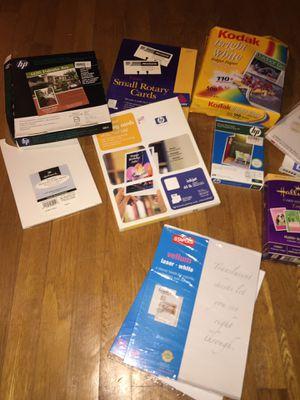 Printing/ photo supplies for Sale in Alexandria, VA