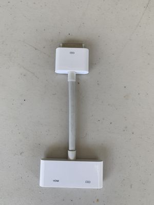 HDMI to connect Apple iPhone 4/4S And iPad 2 Apple iPad3 iPod Touch To TV Monitor Projector HD Device for Sale in Jacksonville, FL