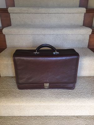 Leather brief case for Sale in West Richland, WA