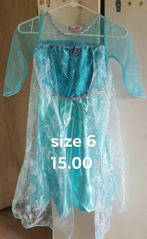 Princess Dresses Christmas Costume Party Children Kids Clothing for Sale in Saint Amant, LA