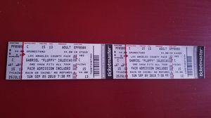 2 gabriel Iglesias (fluffy) tickets for Sale in Lompoc, CA