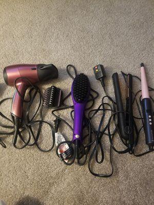 Hair Bundle-4 ITEMS for Sale in Roseville, MI