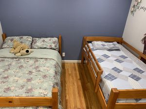 BunkBed with Mattresses for Sale in Sunnyvale, CA