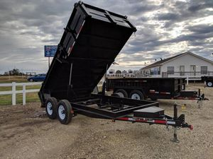 NEW 7x14 Dump Trailer WE FINANCE (Se habla español) for Sale in Houston, TX