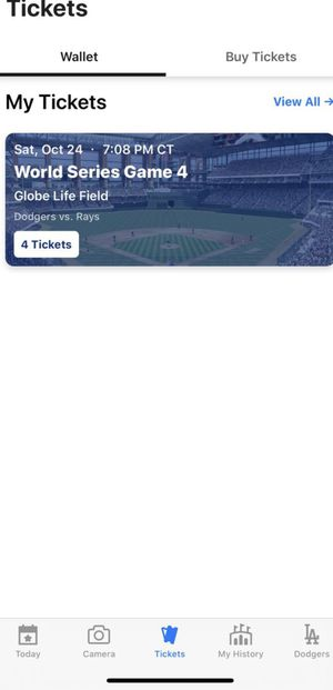 Dodgers Tickets ! for Sale in Dallas, TX
