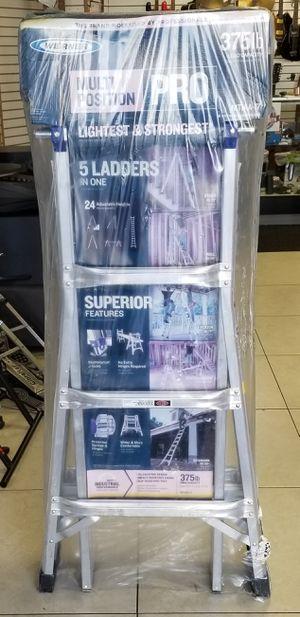 WERNER MT-17 375Lbs Rated Multi Ladder for Sale in Oakland Park, FL