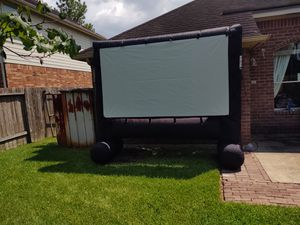 Inflatable projector screen for Sale in Rosenberg, TX