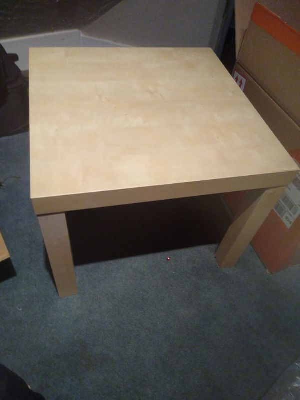 Office Desk And Side Table
