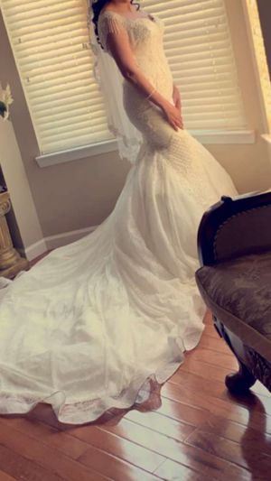 Weeding white dress for Sale in Troy, MI