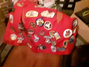 Vest full of boy scout patches for Sale in Columbus, OH