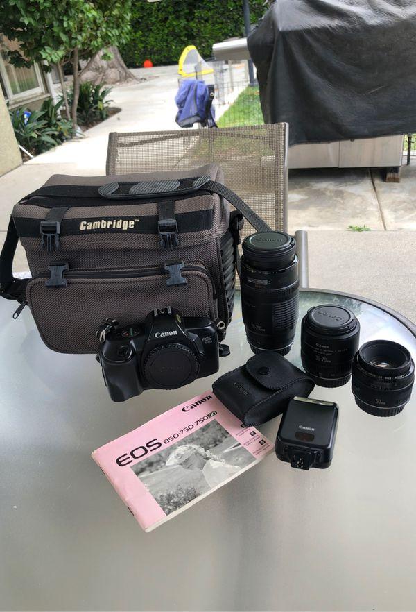 Canon 750, 750QD, 850 camera bundle
