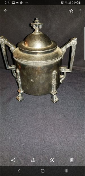 Reed and barton 1800s silver plate suger server very rare to collector ! 200 obo for Sale in North Providence, RI