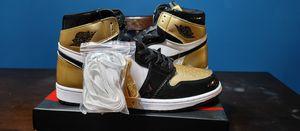Air Jordan 1 Retro High NRG Patent Gold Toe Men Size 11 for Sale in Sugar Creek, MO