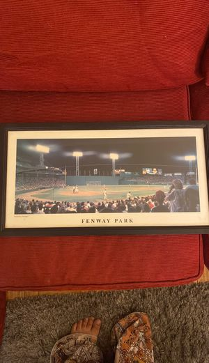 Fenway Park framed photo for Sale in Washington, DC