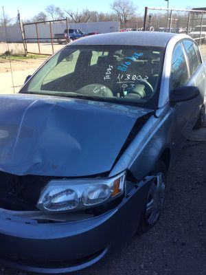 2003 SATURN ION FOR PARTS for Sale in Dallas, TX