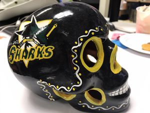 Sports skull, San Jose Sharks, SF Giants, SF 49 and Warriors for Sale in San Jose, CA
