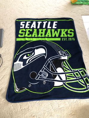 NFL: Seattle Seahawks blanket. for Sale in Hilo, HI
