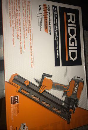 Ridgid nail gun for Sale in San Francisco, CA