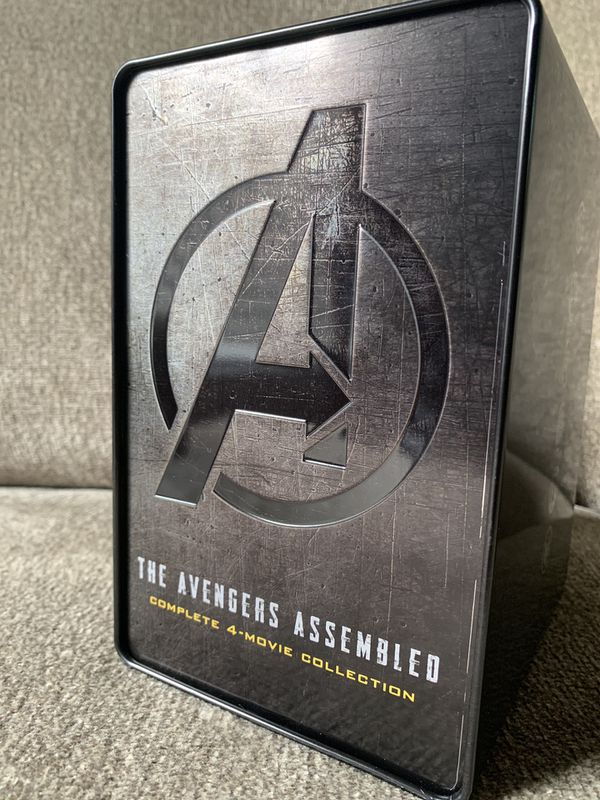 Marvel Avengers (Steel Book) 4- Movie Collection