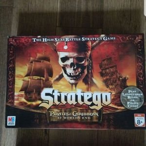 Pirates of The Caribbean Strategico Board Game for Sale in Norristown, PA