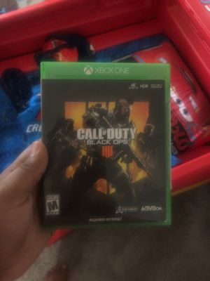 Call of duty black ops 4 for Sale in Gaithersburg, MD