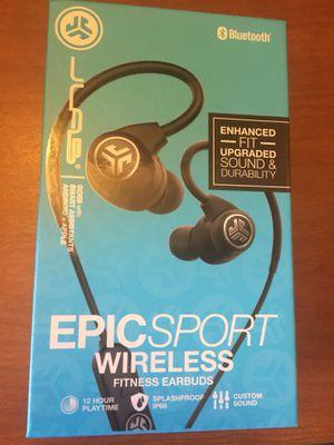 JLab Audio Epic Sport Wireless Earbuds New for Sale in Phoenix, AZ