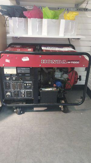 Honda EB11000 Generator for Sale in Tacoma, WA