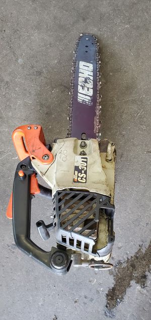 "ECHO CS301 14"" blade chainsaw for Sale in El Monte, CA"