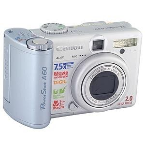 Canon Powershot A60 Digital Camera for Sale in Los Angeles, CA