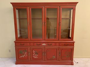Jasper China Cabinet - Perfect Condition for Sale in Boynton Beach, FL