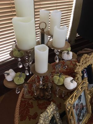 Candelabra gold for Sale in Cedar Hill, TX