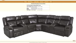 Nice Reclaining sectional for Sale in Pacific, WA