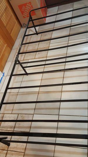 Metal platform bedframe- TWIN SIZE for Sale in Elizabethtown, PA