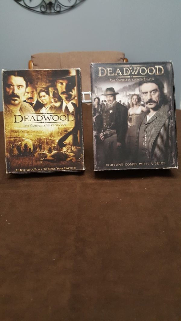 Deadwood DVD'S Season 1&2