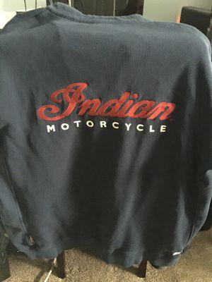 Indian motorcycle 2XL men's jacket for Sale in Joliet, IL