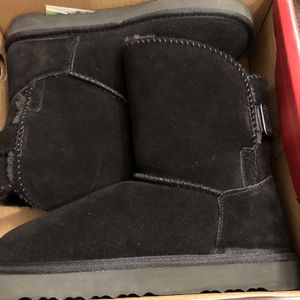 Women's Black Boots Size 8 New for Sale in Fountain Valley, CA