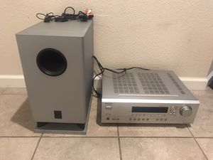 Onkyo receiver and sub for Sale in San Diego, CA