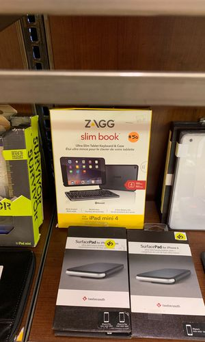 Zagg keyboard and case iPad mini 4 for Sale in Jacksonville, FL