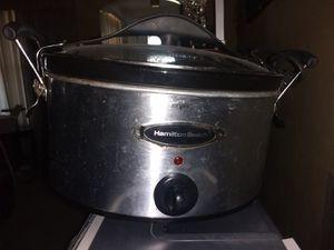 Hamilton Beach Crock-Pot for Sale in New Port Richey, FL