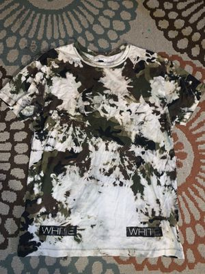 Off White Camo T-Shirt (PICK UP ONLY) for Sale in Bronxville, NY