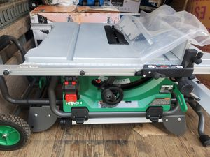 Hitachi table saw new for Sale in Huntington Park, CA