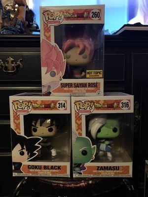 Dragonball Z Funko Pop Goku Black for Sale in Vallejo, CA